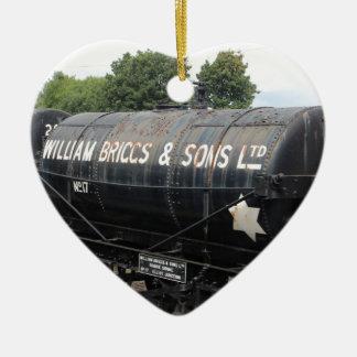 鉄道場面-タンカー-ヴィンテージ セラミックオーナメント