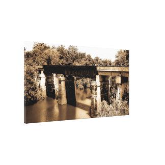 鉄道橋 キャンバスプリント