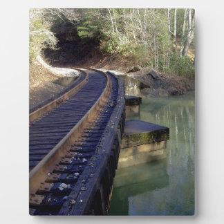 鉄道橋 フォトプラーク