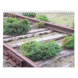 鉄道線路 カレンダー