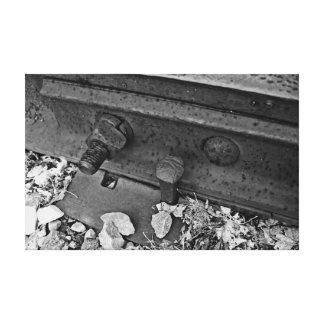鉄道線路 キャンバスプリント