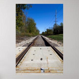 鉄道線路 ポスター
