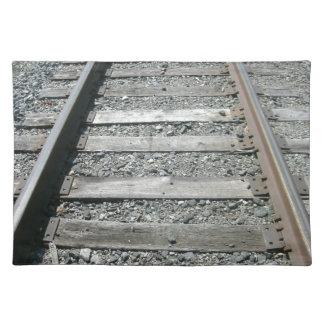 鉄道線路 ランチョンマット