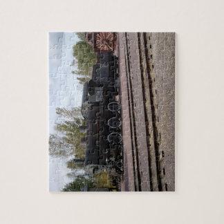 鉄道蒸気のLocamotiveのパズル2 ジグソーパズル