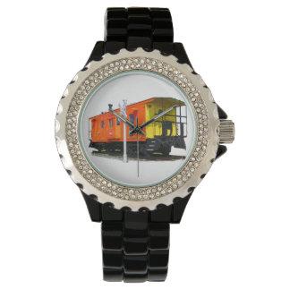 鉄道車掌車の腕時計 腕時計