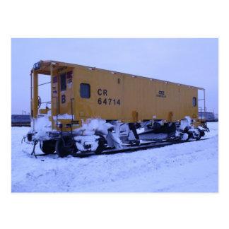 鉄道除雪機 ポストカード