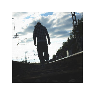 鉄道hitchiker キャンバスプリント