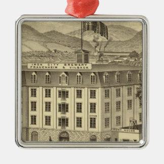 鉄都市ビール醸造所、FrauenheimおよびVilsack メタルオーナメント