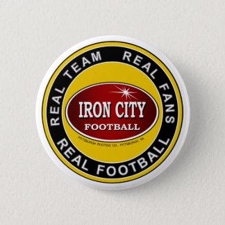 鉄都市; 実質のチーム、実質ファン、実質のフットボール 5.7CM 丸型バッジ