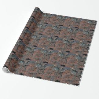 鉄鋼の赤鉄鉱のマクロ写真 ラッピングペーパー