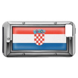 鉄骨フレームのクロアチアの旗 iPhone SE/5/5s ケース