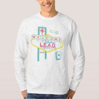 鉛ユニセックスなL/Sの丸首 Tシャツ