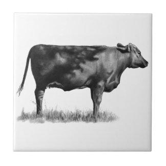 鉛筆の肉用牛か雌牛: 現実主義: 引くこと タイル