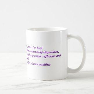 鉛 コーヒーマグカップ