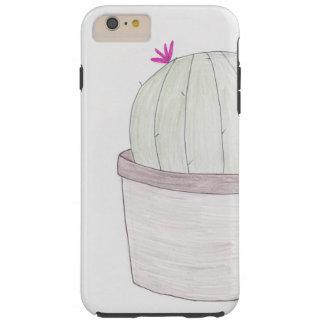 鉢植えなサボテンの植物 TOUGH iPhone 6 PLUS ケース
