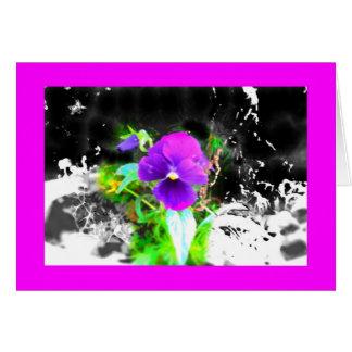 鉢植えな栄光 グリーティングカード