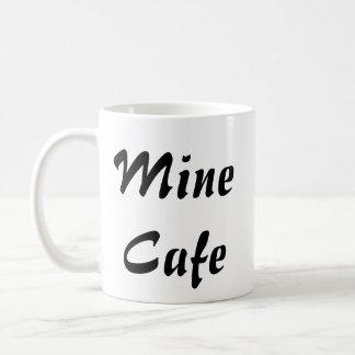 鉱山のカフェ コーヒーマグカップ