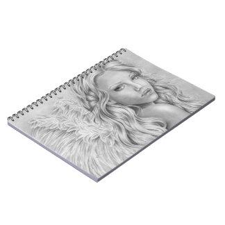 鉱山のノートの天使 ノートブック