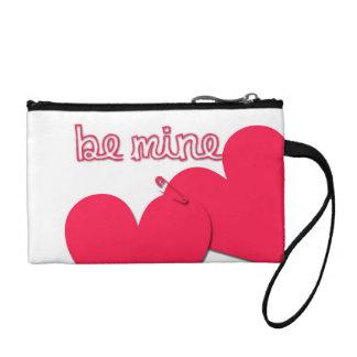 鉱山のバレンタインデーのモダンな硬貨の財布があって下さい コインパース