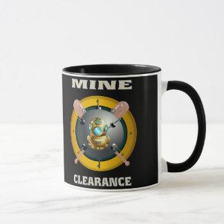 鉱山整理のダイバー マグカップ