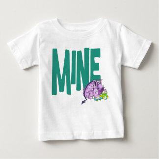 鉱山(白い) ベビーTシャツ