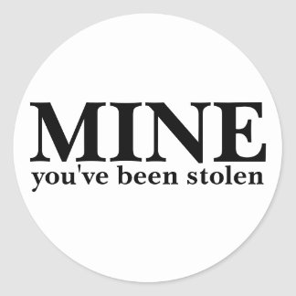 鉱山-盗まれました ラウンドシール