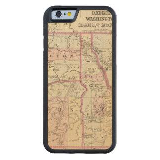 鉱石、洗浄、Ida、Mont CarvedメープルiPhone 6バンパーケース