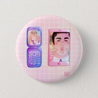 鉱石Monogatari!! ボタン 5.7cm 丸型バッジ