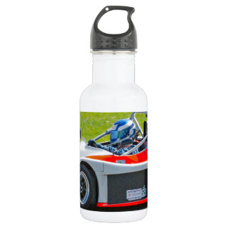 銀および赤の独身のなseaterのレースカー ウォーターボトル