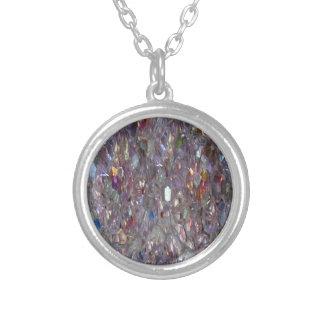 銀によってネックレスのオーロラのBorealisのめっきされる写真 シルバープレートネックレス