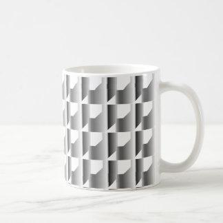 銀によって鎖でつながれるタイル コーヒーマグカップ