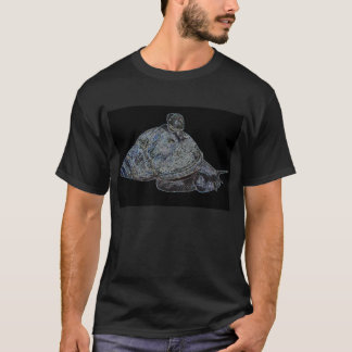 銀のかたつむり Tシャツ