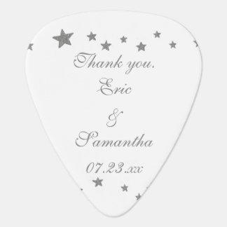 銀の星の結婚はギターピックの好意感謝していしています ギターピック