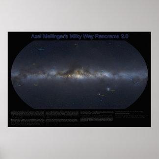 銀河のパノラマ2.0 ポスター