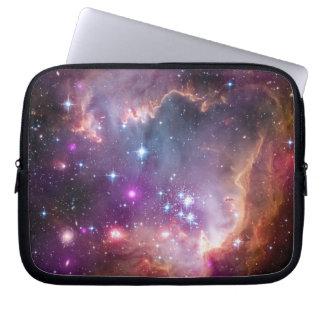 銀河の宇宙の紫色 ラップトップスリーブ