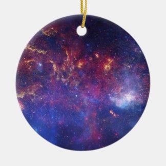 銀河の銀河系の中心の眺め セラミックオーナメント