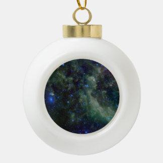 銀河の銀河系内のカシオペア座の星雲 セラミックボールオーナメント