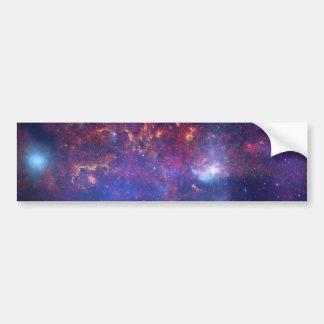 銀河の銀河系-私達の美しい近隣 バンパーステッカー