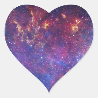 銀河の銀河系IVの中心 ハートシール