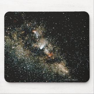 銀河のHalleysの彗星 マウスパッド