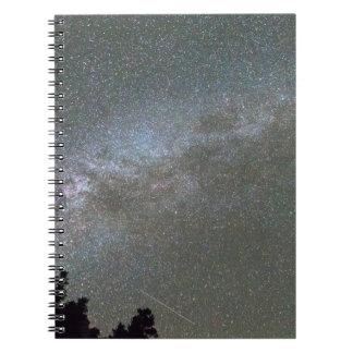 銀河のPerseidの流星群 ノートブック