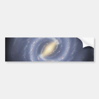 銀河へのNASAの道路図 バンパーステッカー