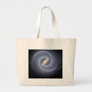 銀河へのNASAの道路図 ラージトートバッグ