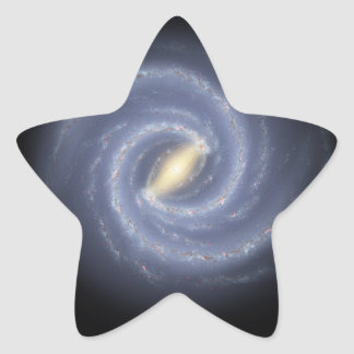 銀河へのNASAの道路図 星シール