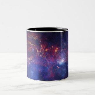 銀河核の地域のマグ ツートーンマグカップ