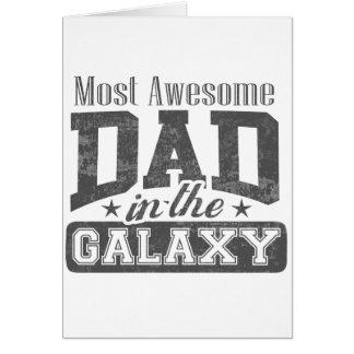 銀河系のほとんどの素晴らしいパパ カード