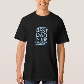 銀河系のカッコいいの父の日のTシャツのティーの最も最高のなパパ Tシャツ