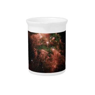 銀河系のプリント ピッチャー