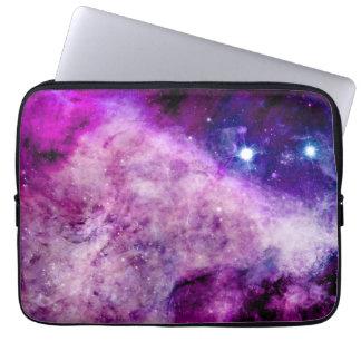 銀河系のラップトップスリーブ13のインチの星の星雲の紫色 ラップトップスリーブ
