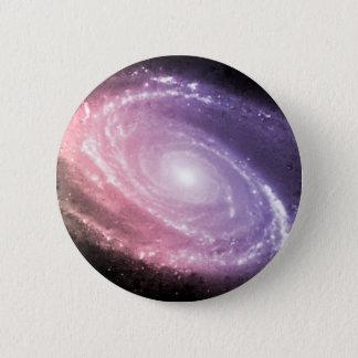 銀河系の勾配の宇宙の芸術 5.7CM 丸型バッジ
